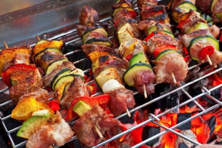 barbecue spiezen wevers